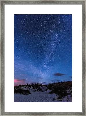 Way Beyond The Dune 4676 Framed Print