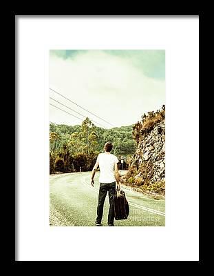 Travelling Framed Prints