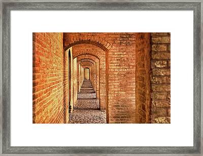 Way Of Return Framed Print by Elena Riim