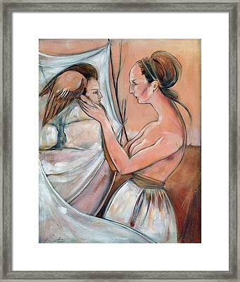 Way Of The World Framed Print by Jacque Hudson