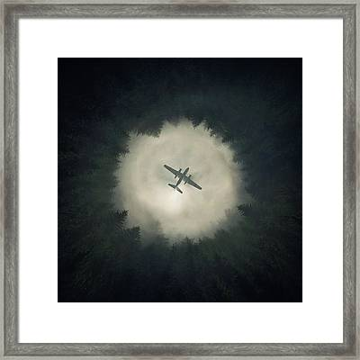 Way Out Framed Print by Zoltan Toth