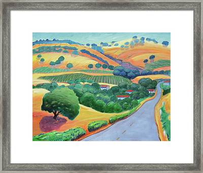 Way To Bear Framed Print by Gary Coleman