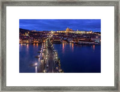 Way To The Castle Framed Print