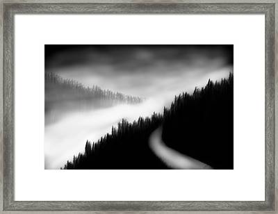 Way To The Unknown Framed Print