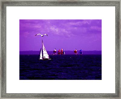 Way Up In The Clouds Framed Print
