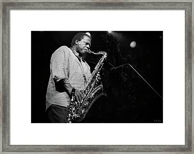 Wayne Shorter Discography Framed Print
