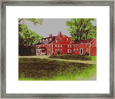Wayside Inn 1875 Framed Print