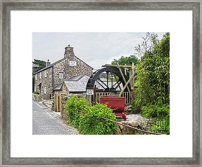 Wayside Museum And Trewey Mill, Zennor, Cornwall Framed Print by Terri Waters