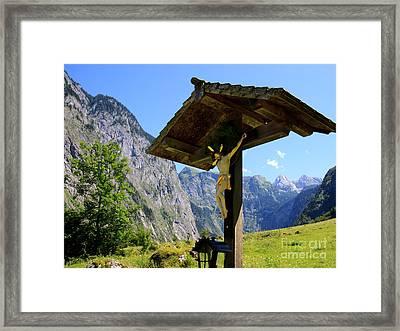 Wayside Framed Print by Nailia Schwarz