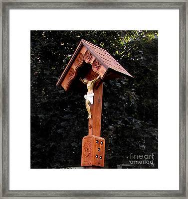 Wayside Shrine Framed Print