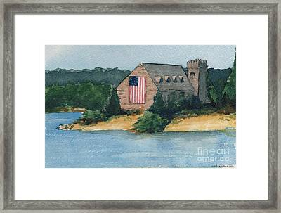 Wb Stone Church  Framed Print