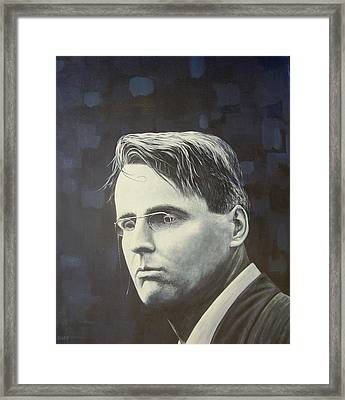 W.b. Yeats Framed Print by Eamon Doyle
