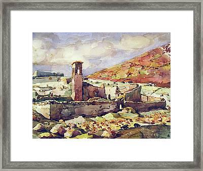 Wb1955bo001 Landscape Of Potosi 11.5x9 Framed Print
