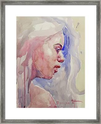 Wc Portrait 1618 Framed Print by Becky Kim