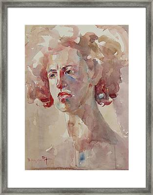 Wc Portrait 1621 Framed Print
