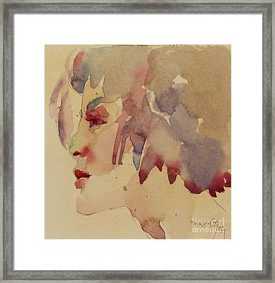 Wcp 1702 A Dancing Fool Framed Print by Becky Kim