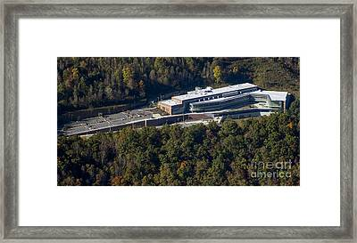 Wcu Health And Human Sciences Building Framed Print