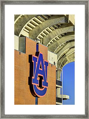 Wde From Jordan Hare Framed Print by JC Findley