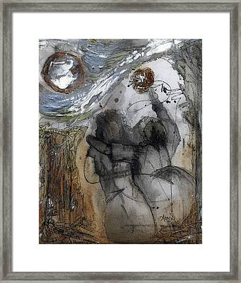 We All Belong Framed Print by Anne-D Mejaki - Art About You productions