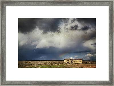 We All Need A Little Hope Framed Print by Laurie Search
