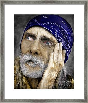 We All Need Help Framed Print by JohnD Smith