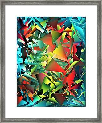 We All Shine On Framed Print by Jacqueline McReynolds