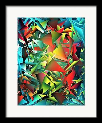 We All Shine On Framed Prints