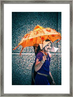 We All Wear Masks Framed Print by Off The Beaten Path Photography - Andrew Alexander