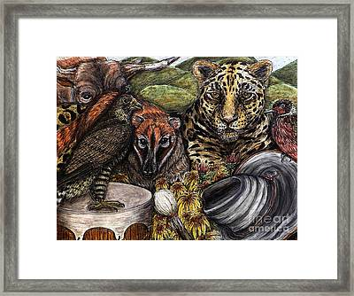 We Are All Endangered Framed Print