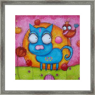 We Are Friends Framed Print