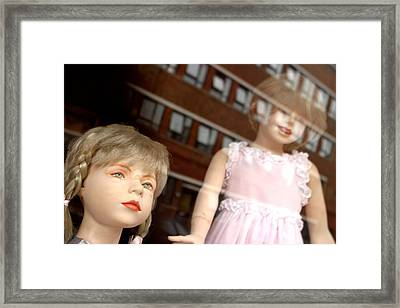 We Are Kind And Sweet Really Framed Print by Jez C Self