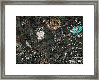We Are Not Alone..  Framed Print by Andy  Mercer