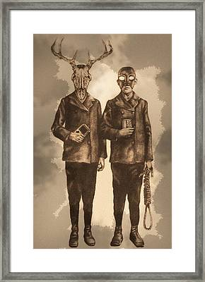We Are Not Twins Framed Print by Phil Spaulding