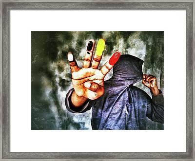 We Are One II Framed Print