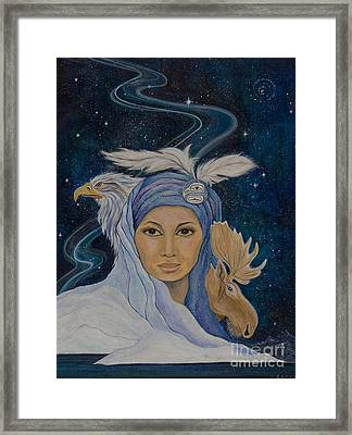 We Are One Framed Print by Jeanette Sacco-Belli