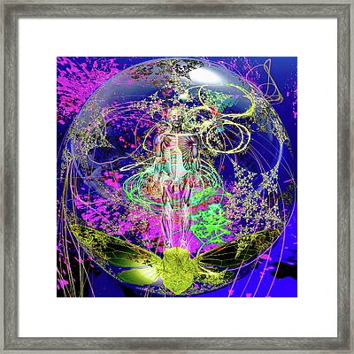We Are Star Stuffed Solar Framed Print by Joseph Mosley