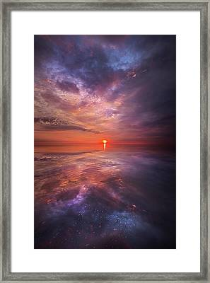 We Are The Dreamers Of Dreams Framed Print by Phil Koch