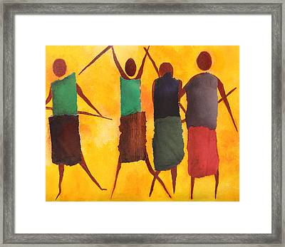 We Are The People Framed Print