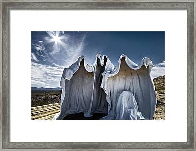 We Are The Things That Go Bump In The Night That You Cant See Framed Print by Mike McMurray