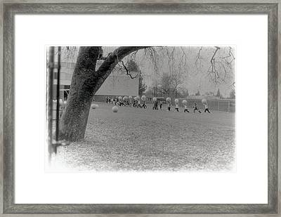 We Are The World Funny Photo Framed Print