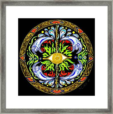 We Are Water Framed Print by Pam Ellis