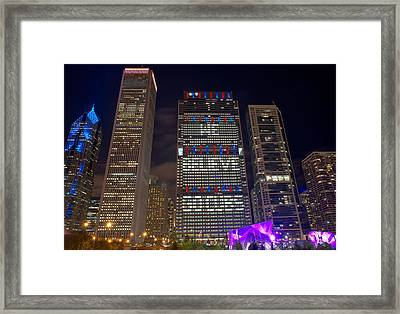 We Believe Go Cubs B Framed Print by Kevin Eatinger