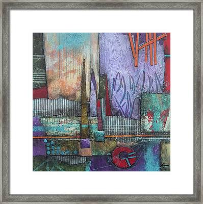 We Can Handle This Framed Print by Laura Lein-Svencner