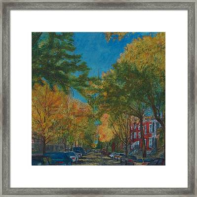 We Cannot Live Life As Usual Framed Print by Jacob Stempky