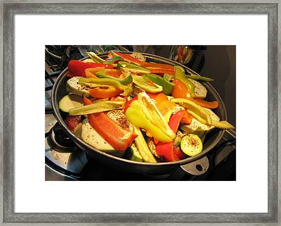 Framed Print featuring the photograph We Cook Food 5 by Yury Bashkin