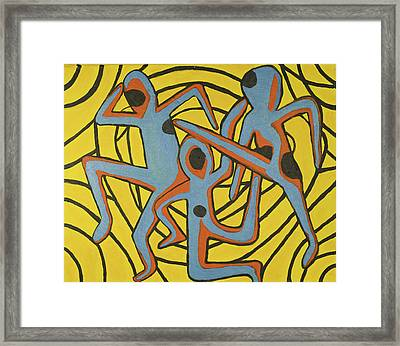 We Dance Framed Print