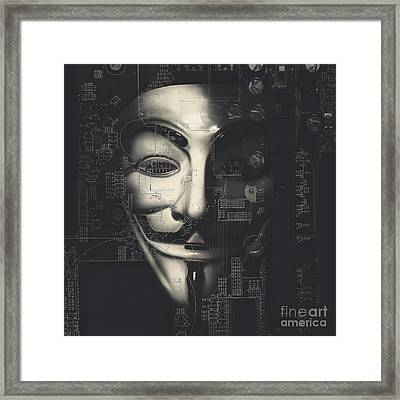 We Don't Forgive, We Don't Forget, Expect Us Framed Print by Jorgo Photography - Wall Art Gallery