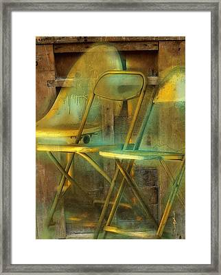 We Don't Talk Anymore  Framed Print by Bob Salo