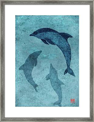 We Dream Again Of Blue Green Seas Framed Print