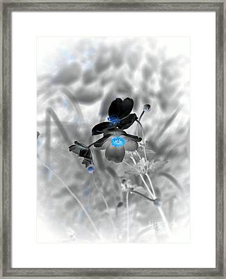 We Fade To Grey 4 Part 2 Framed Print